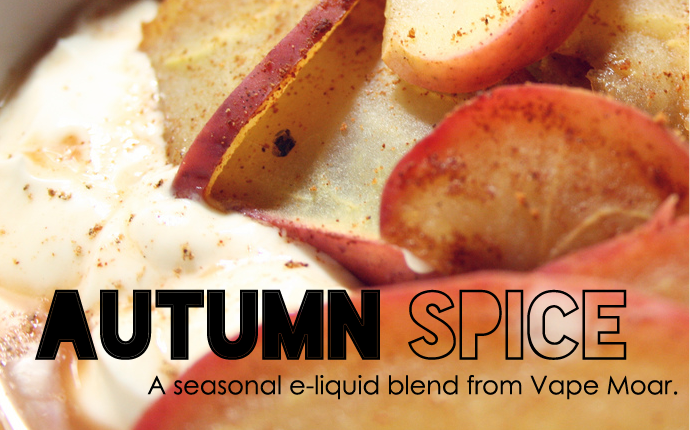 VapeMoar's Autumn Spice E-Juice Review