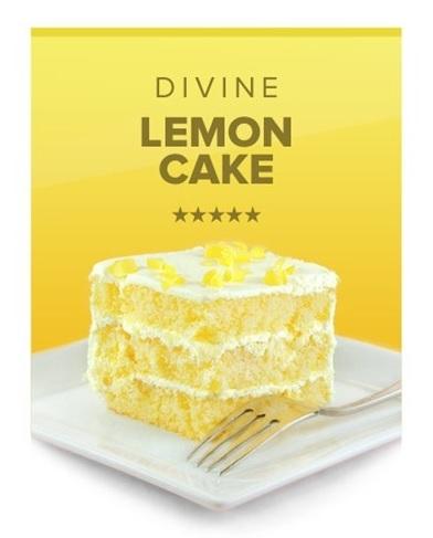 Divine Lemon Cake by Vapor Beast