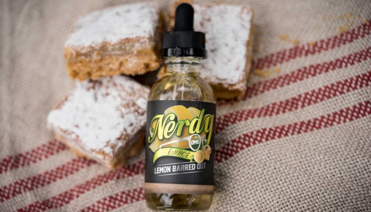 Review of Lemon Barred Out E-Liquid by Nerdy