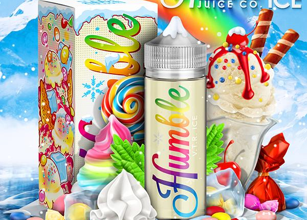 Ice Vape the Rainbow E-liquid by Humble Juice Co. Review