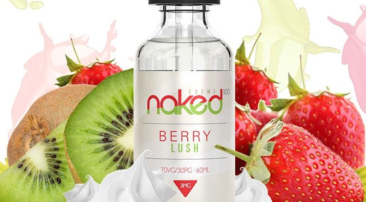 Naked 100 Berry Lush E-Juice Review