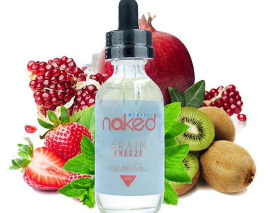 Brain Freeze E-Liquid by Naked 100 Review