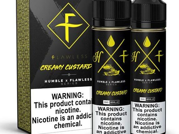 Humble x Flawless' Custard Cream E-juice Review